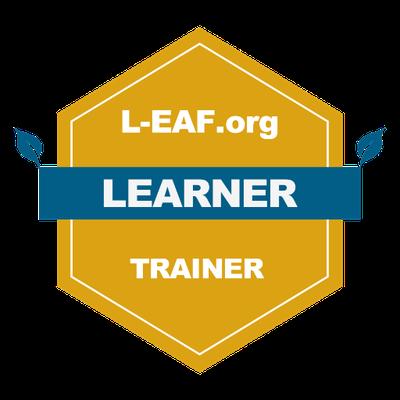 La imagen tiene un atributo ALT vacío; su nombre de archivo es Certified-L-EAF.org-Trainer-L-EAF.org-Certified-Learner-Trainer-2021-02-24.png